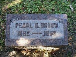 Pearl D Brown