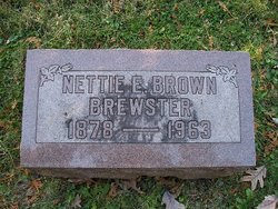 Nettie E Brown Brewster