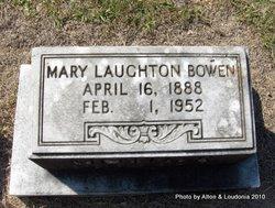 Mary <i>Laughton</i> Bowen