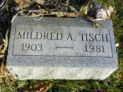 Mildred A <i>Evans</i> Tisch