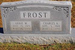 Annie Mae <i>Carroll</i> Frost