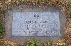Ferd H Alms