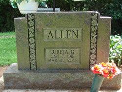 Lureta G Allen