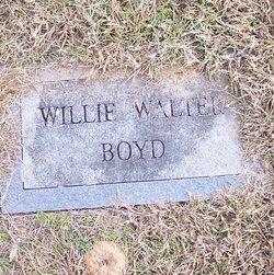 Willie Walter Boyd