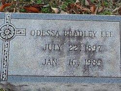 Odessa Zenobia <i>Bradley</i> Lee