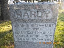 Mary E <i>Judd</i> Hardy