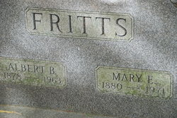 Mary E <i>Hahn</i> Fritts
