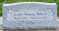 Jennifer <i>Shumway</i> Ballard