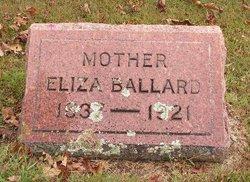 Eliza <i>Melton</i> Ballard