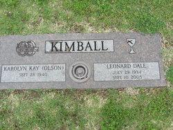 Leonard Dale Kimball