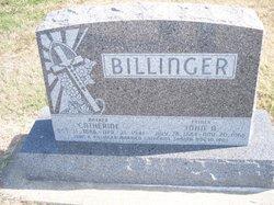 Catherine <i>Sander</i> Billinger
