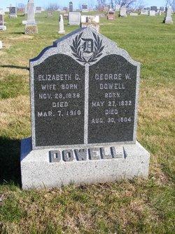 Elizabeth Catherine <i>Gilmore</i> Dowell