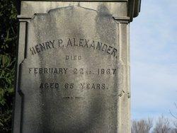 Henry Porteous Alexander