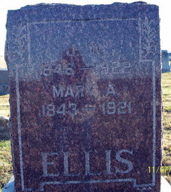 Mary A <i>Kirkendall</i> Ellis