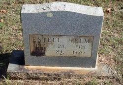 Jewel Estell <i>Hamilton</i> Helm
