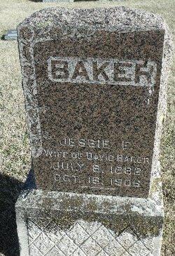 Mary E Jessie <i>Kirkling</i> Baker