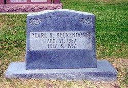Pearl Blanche <i>Hagerman</i> Beckendorff