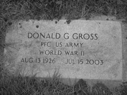 PFC Donald G Gross