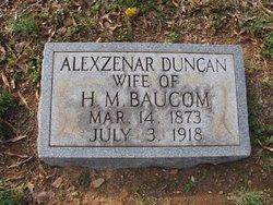Alexzenar <i>Duncan</i> Baucom