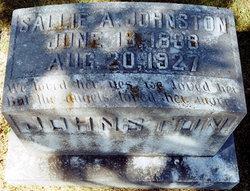 Sallie A Johnston