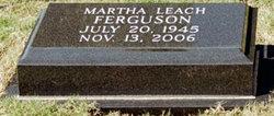 Martha Leach Ferguson