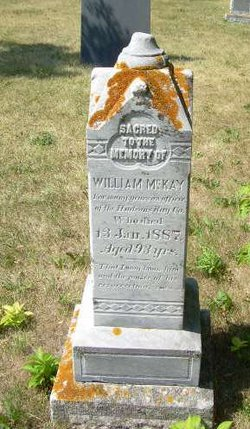 William Pickerel Face McKay