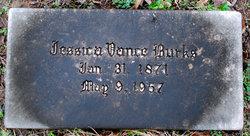 Jessica Jesse <i>Vance</i> Burks