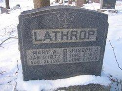 Mary Amanda <i>Myers</i> Lathrop