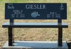 Mabel D. Boots <i>Thomas</i> Giesler