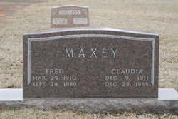 Fred Maxey