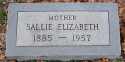 Sallie Elizabeth <i>Phillips</i> Acock