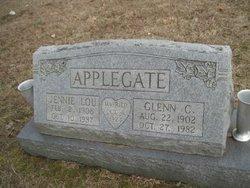 Jennie <i>Hitt</i> Applegate