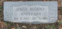 Daisy Lena <i>Blount</i> Anderson