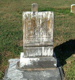 Walter Hugh Drane, I