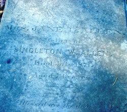 Jane Lanier <i>Heard</i> Allen