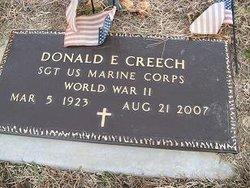 Donald E Creech