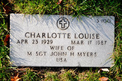 Charlotte Louise Myers
