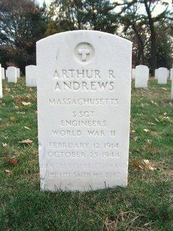 Sgt Arthur R Andrews