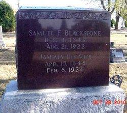 Samuel F Blackstone