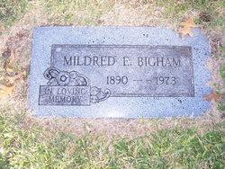 Mildred <i>Poston</i> Bigham