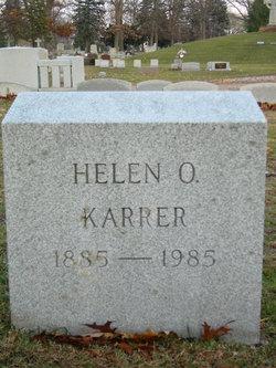 Helen Olive <i>Hayes</i> Karrer