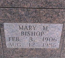 Mary M Bishop