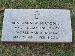 Benjamin W Burton, Jr
