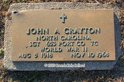 John Alexander Crayton