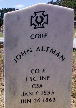 Corp John Altman