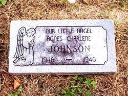 Agnes Charlene Johnson