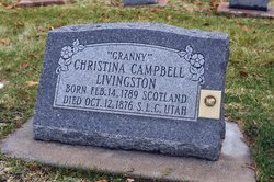 Christina Campbell <i>Livingston</i> Livingston