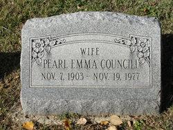 Pearl Emma <i>Thompson</i> Councill