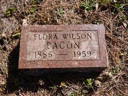 Flora <i>Wilson</i> Bacon