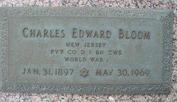 Pvt Charles Edward Bloom